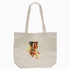 Indian 18 Tote Bag (cream) by indianwarrior