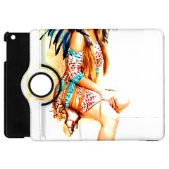 Indian 18 Apple Ipad Mini Flip 360 Case by indianwarrior