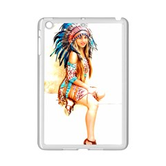 Indian 18 Ipad Mini 2 Enamel Coated Cases by indianwarrior