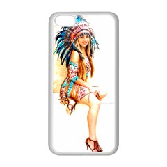 Indian 18 Apple Iphone 5c Seamless Case (white) by indianwarrior