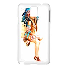 Indian 18 Samsung Galaxy Note 3 N9005 Case (white) by indianwarrior