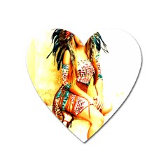 Indian 16 Heart Magnet by indianwarrior
