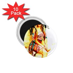 Indian 16 1 75  Magnets (10 Pack)  by indianwarrior
