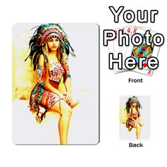 Indian 16 Multi Purpose Cards (rectangle)  by indianwarrior