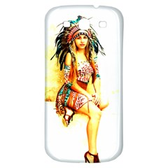 Indian 16 Samsung Galaxy S3 S Iii Classic Hardshell Back Case by indianwarrior
