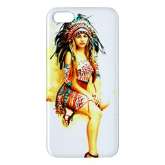 Indian 16 Apple Iphone 5 Premium Hardshell Case by indianwarrior