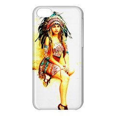 Indian 16 Apple Iphone 5c Hardshell Case by indianwarrior
