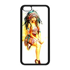 Indian 16 Apple Iphone 5c Seamless Case (black) by indianwarrior