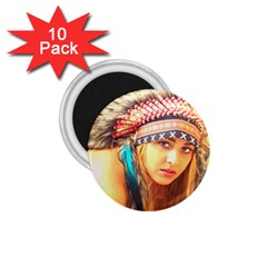 Indian 14 1 75  Magnets (10 Pack)  by indianwarrior
