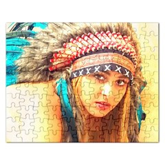 Indian 14 Rectangular Jigsaw Puzzl by indianwarrior