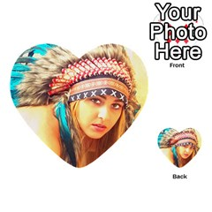 Indian 14 Multi Purpose Cards (heart)  by indianwarrior