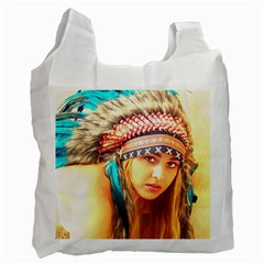 Indian 14 Recycle Bag (one Side) by indianwarrior