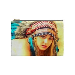 Indian 14 Cosmetic Bag (medium)  by indianwarrior
