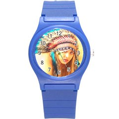 Indian 14 Round Plastic Sport Watch (s) by indianwarrior
