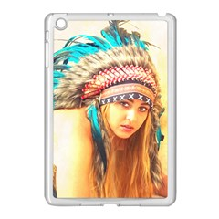Indian 14 Apple Ipad Mini Case (white) by indianwarrior