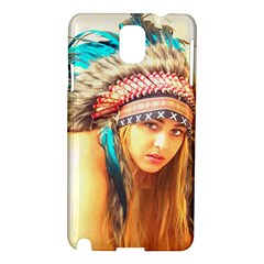 Indian 14 Samsung Galaxy Note 3 N9005 Hardshell Case by indianwarrior