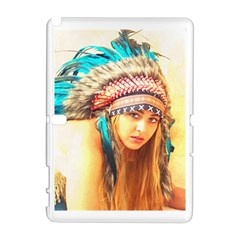 Indian 14 Samsung Galaxy Note 10 1 (p600) Hardshell Case by indianwarrior
