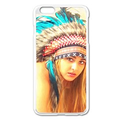 Indian 14 Apple Iphone 6 Plus/6s Plus Enamel White Case by indianwarrior