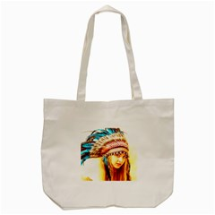 Indian 12 Tote Bag (cream) by indianwarrior