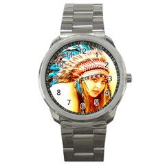 Indian 12 Sport Metal Watch by indianwarrior