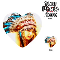 Indian 12 Multi Purpose Cards (heart)  by indianwarrior