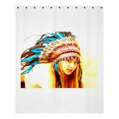 Indian 12 Shower Curtain 60  X 72  (medium)  by indianwarrior