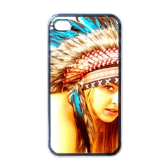 Indian 12 Apple Iphone 4 Case (black) by indianwarrior