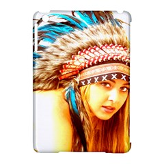 Indian 12 Apple Ipad Mini Hardshell Case (compatible With Smart Cover) by indianwarrior