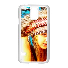 Indian 12 Samsung Galaxy S5 Case (white) by indianwarrior