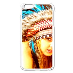 Indian 12 Apple Iphone 6 Plus/6s Plus Enamel White Case by indianwarrior