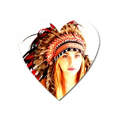 Indian 3 Heart Magnet by indianwarrior
