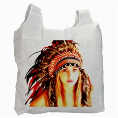 Indian 3 Recycle Bag (one Side) by indianwarrior
