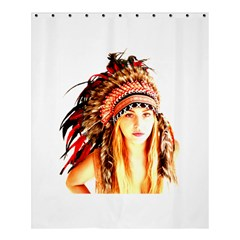 Indian 3 Shower Curtain 60  X 72  (medium)  by indianwarrior