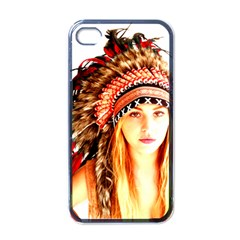 Indian 3 Apple Iphone 4 Case (black) by indianwarrior