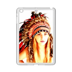Indian 3 Ipad Mini 2 Enamel Coated Cases by indianwarrior