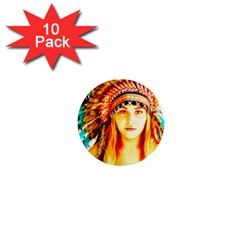 Indian 29 1  Mini Buttons (10 Pack)