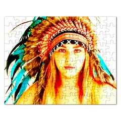 Indian 29 Rectangular Jigsaw Puzzl by indianwarrior