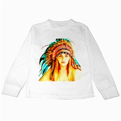 Indian 29 Kids Long Sleeve T Shirts