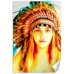 Indian 29 Canvas 24  X 36  by indianwarrior