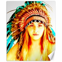Indian 29 Canvas 11  X 14   by indianwarrior