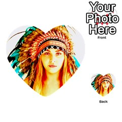 Indian 29 Multi Purpose Cards (heart)  by indianwarrior
