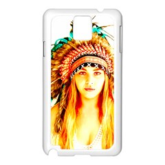Indian 29 Samsung Galaxy Note 3 N9005 Case (white) by indianwarrior