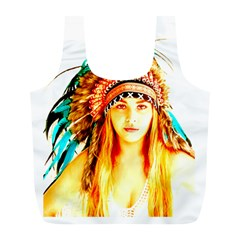 Indian 29 Full Print Recycle Bags (l)  by indianwarrior
