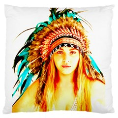 Indian 29 Standard Flano Cushion Case (one Side) by indianwarrior