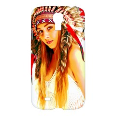 Indian 26 Samsung Galaxy S4 I9500/i9505 Hardshell Case by indianwarrior