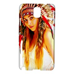Indian 26 Samsung Galaxy Note 3 N9005 Hardshell Case by indianwarrior