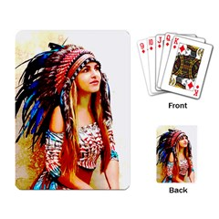 Indian 22 Playing Card by indianwarrior