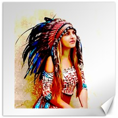 Indian 22 Canvas 12  X 12   by indianwarrior