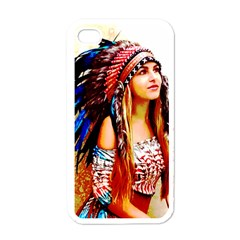 Indian 22 Apple Iphone 4 Case (white) by indianwarrior