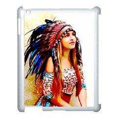 Indian 22 Apple Ipad 3/4 Case (white) by indianwarrior